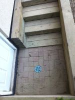 separate entrance walkout wooden steps Toronto
